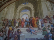 The School of Athens by Raphael.