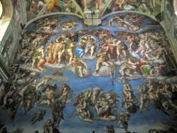 The Last Judgement by Michelangelo.