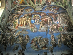 The Last Judgement by Michelangelo.
