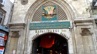 Entrance of the Grand Bazaar.