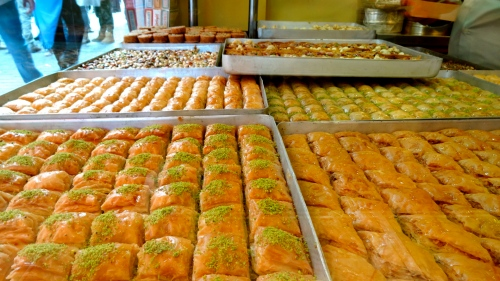 Turkish Pastries.