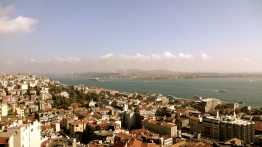 Breathtaking View of Istanbul.