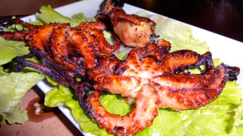 Grilled Octopus.
