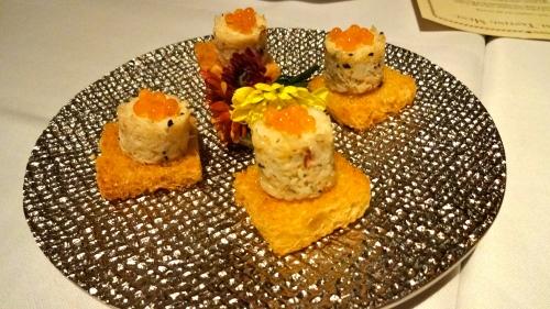 Mini Crab Cakes.