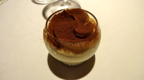Their Version of Tiramisu.