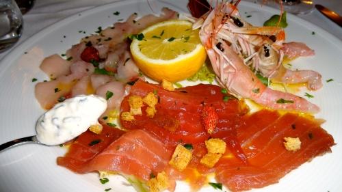 Raw Seafood Platter, Amazing!