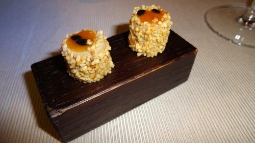 Foie Gras with Passion Fruit.