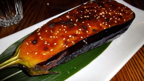 Miso Eggplant.