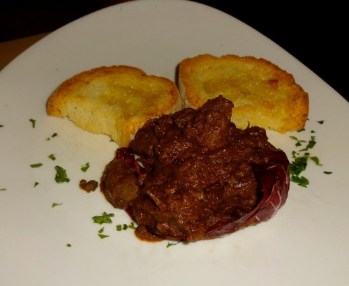 Chicken Liver Crostini.