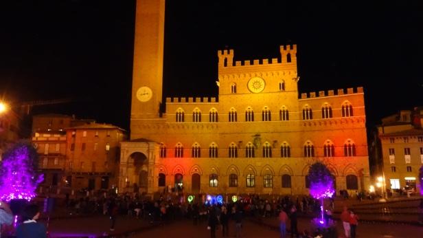 Piazza del Campo at Night.