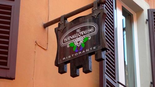 Al Sangiovese Ristorante.