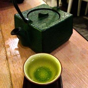 Delicious Green Tea.