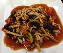 Pork with Spicy Szechuan Sauce.