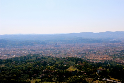 View of Florence from Fiesole.