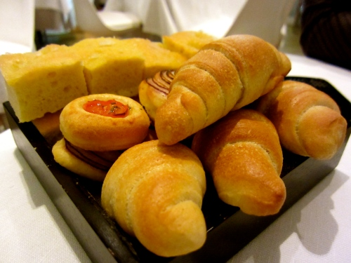 Delicious assortment of Breads.