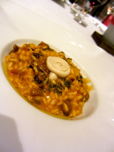 Ossobuco Risotto with Bone Marrow and Gremolata.