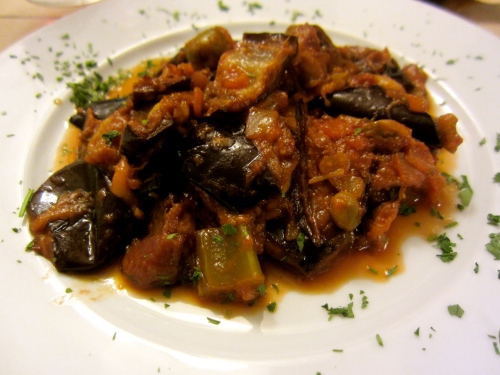 Caponata (Sweet and Sour Eggplant)