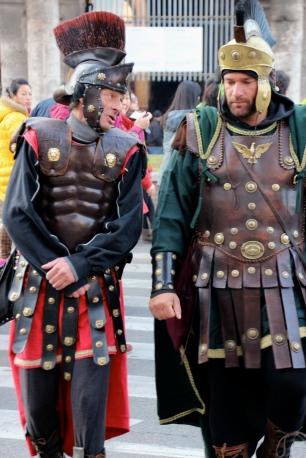 Gladiators Outside the Colosseum.
