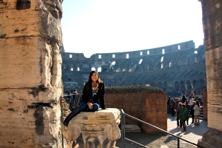 Second Time Inside the Colosseum in 2011.