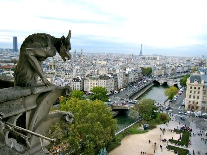 View from Notre Dame de Paris.