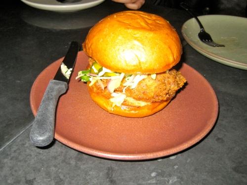 Fried Chicken Sando.