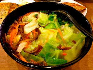 Noodle Soup with Veggies.