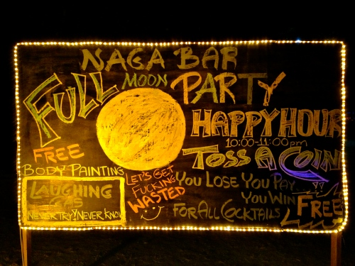 Full Moon Party!