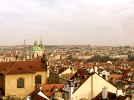 View of Prague.