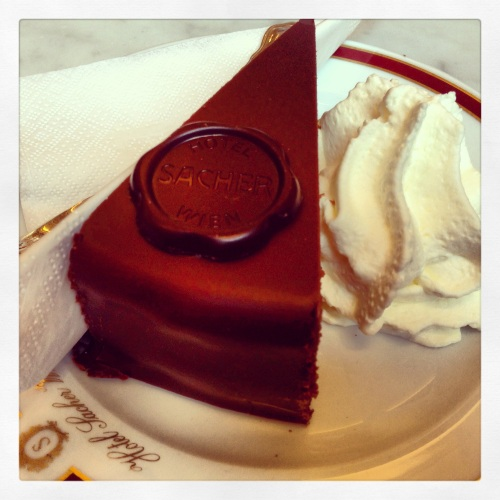 The Original Sacher Torte.