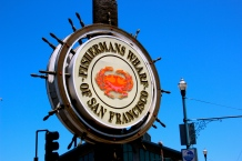 Exploring Fishermans Wharf.