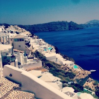 Beautiful View of Oia.