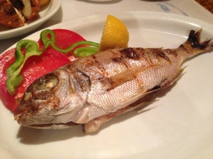 Whole Grilled Fish.