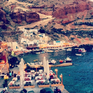 Ammoudi Bay.