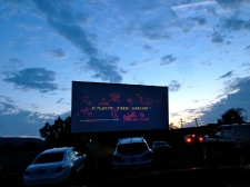 Drive In Movie Theater.