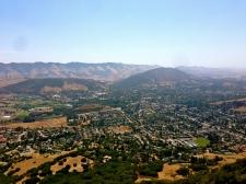 View of San Luis Obispo from Bishop's Peak.