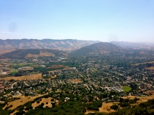 View of San Luis Obispo from Bishop's Peak.