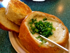 Mmmm, Splash Cafe Has the BEST Clam Chowder Ever.