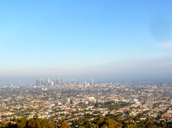 View of Los Angeles.