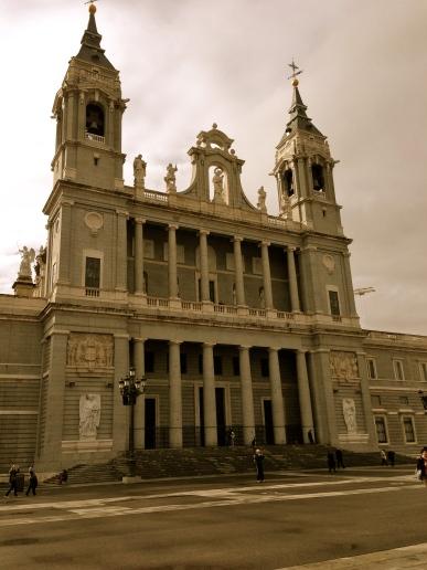 Almudena Cathedral.