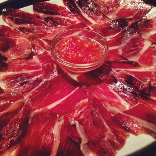 Iberico Ham.