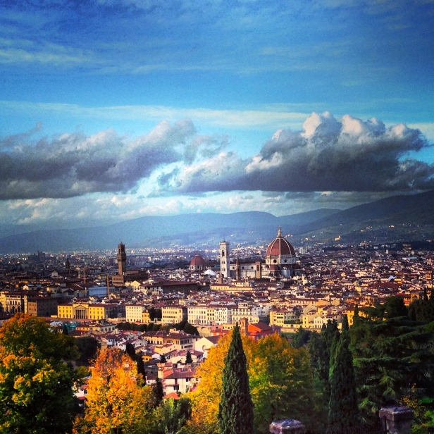 View of Florence from Piazzale Michelangelo.