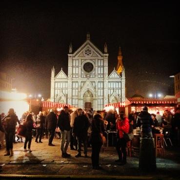 Christmas Market at Piazza Santa Croce.
