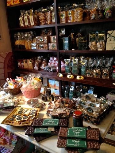 Goodies Sold at Al Bicerin.