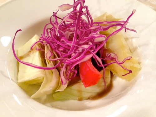 Vegetables with Bagna Cauda.