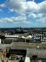 View of Dublin.