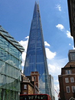 The Shard Skyscraper.
