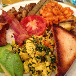 Mixed Breakfast Platter.