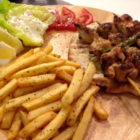 Chicken Souvlaki.