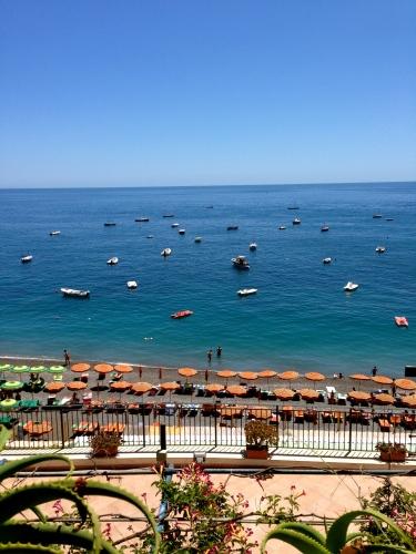 View of Positano.