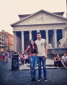 With My Italian Man.